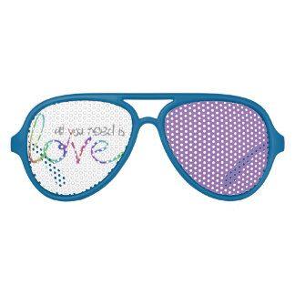 Love Aviator Sunglasses