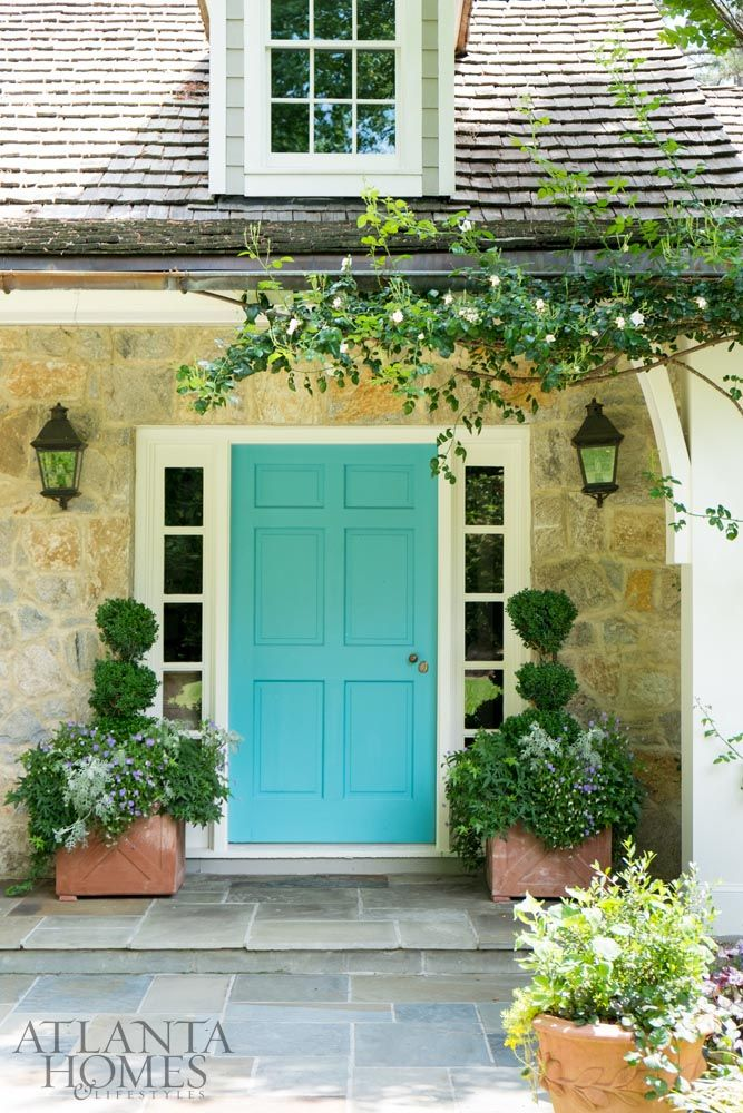 141 Best Images About Painted Doors On Pinterest
