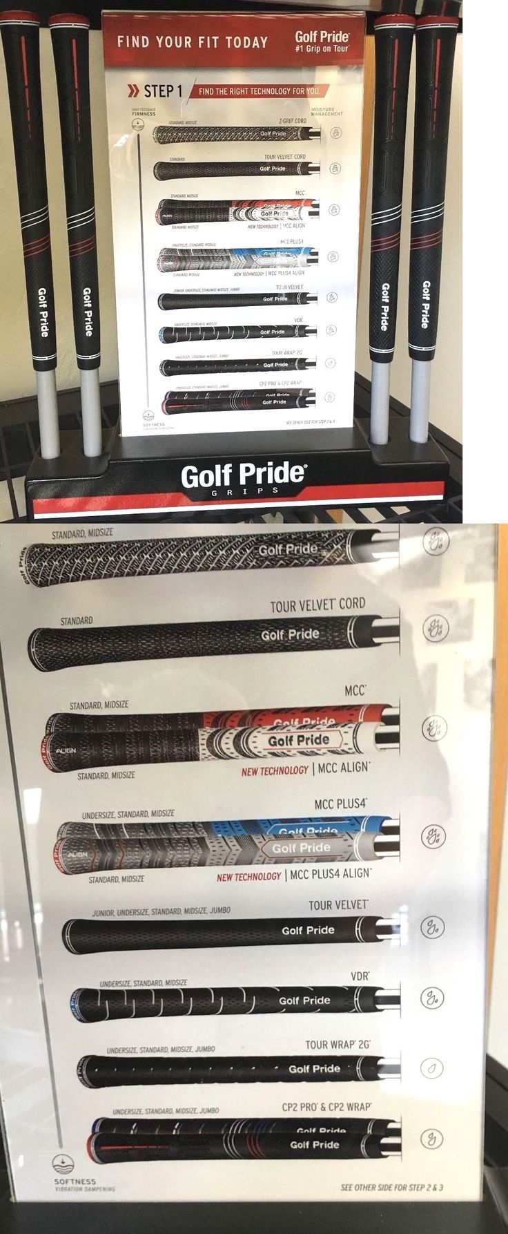 Golf Equip Tools and Supplies 179281: Golf Pride Grip Sizing Display Club Building Repair New Open Box -> BUY IT NOW ONLY: $39.95 on eBay!