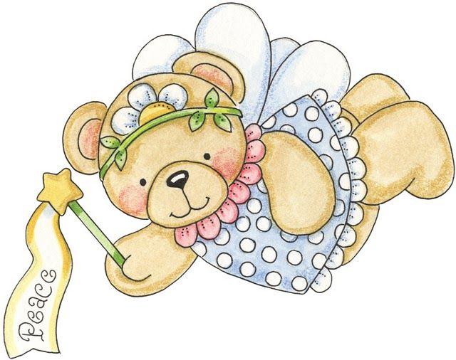 Una colección de dulces osos hadas  que representan los dones y las virtudes...Elige el que quieras y regalaselo seguro que la haces muy fel...