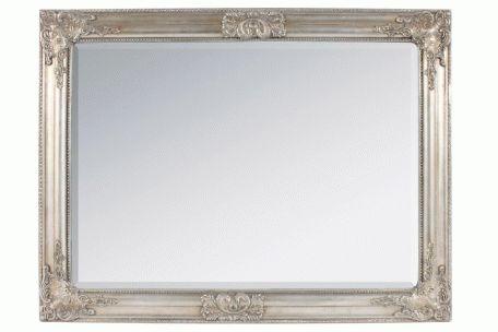 Oglinda lemn de perete