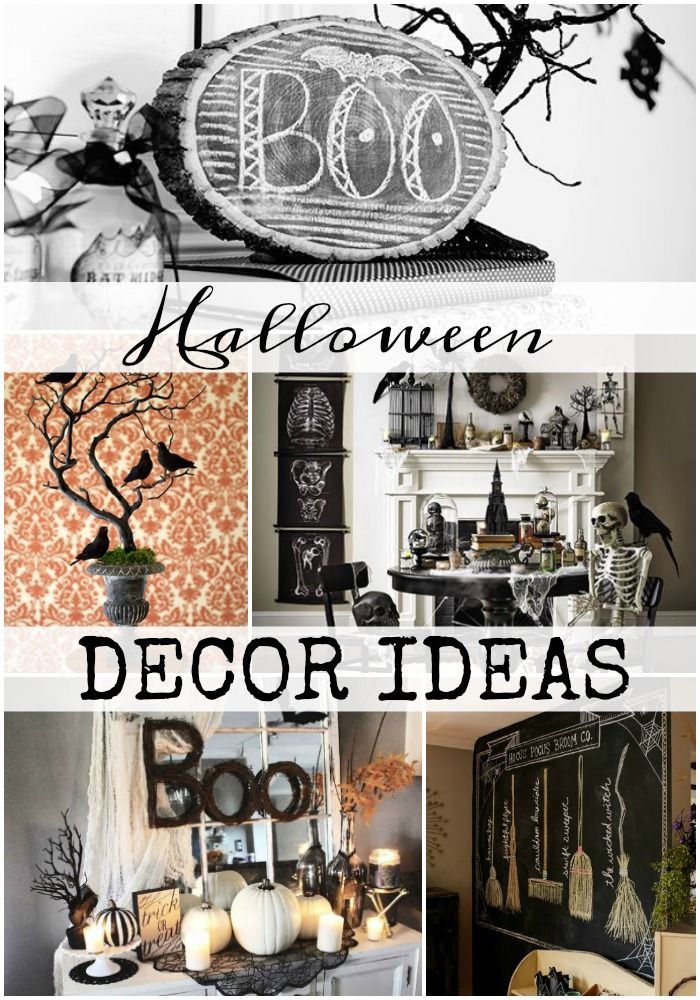 Halloween Decorating ideas Tons of inspiration to