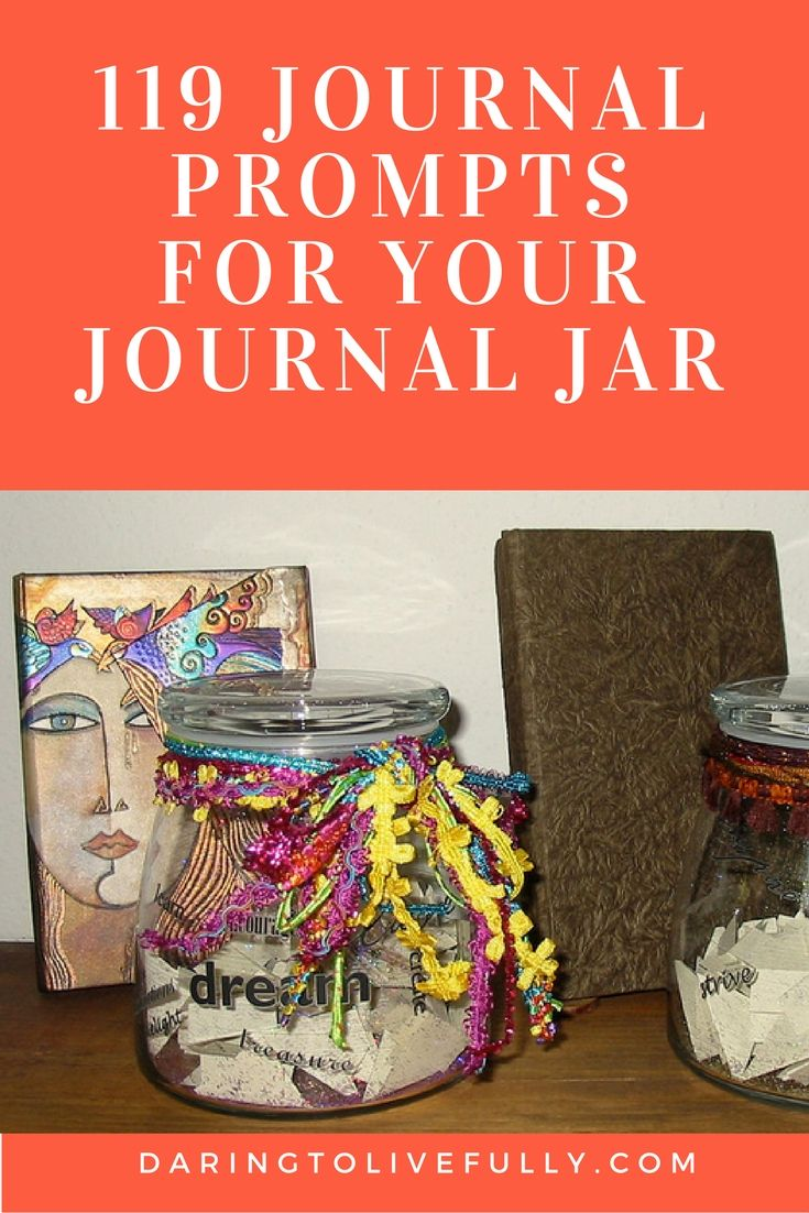 Journal prompts for when you're not sure what to write about in your journal.
