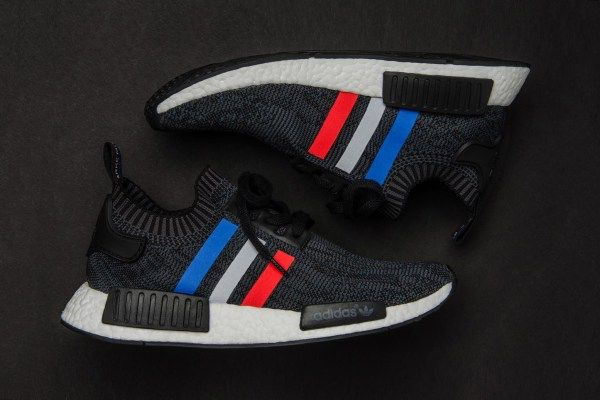 """Here's an In-Depth Look at the adidas Originals NMD_R1 """"Tri-Color"""" Pack"""