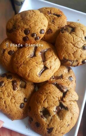 Resep Chewy Peanut Butter Cookies Melted Dessert Oleh Shafa Diandra Resep Kue Kering Mentega Selai Kacang Kue Kering