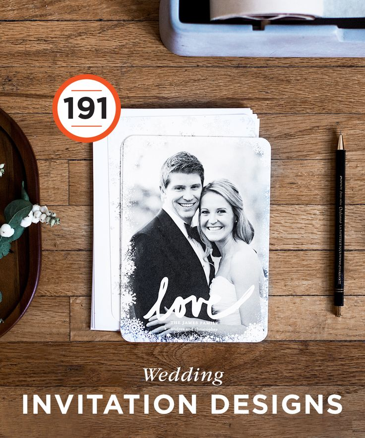 191 Wedding Invitation Designs: Get wedding invitation ideas that fit your style and wedding theme. | Shutterfly