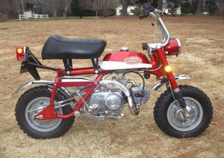 My first bike dad got me for my 8th birthday from Smokey's Honda in Tulsa.