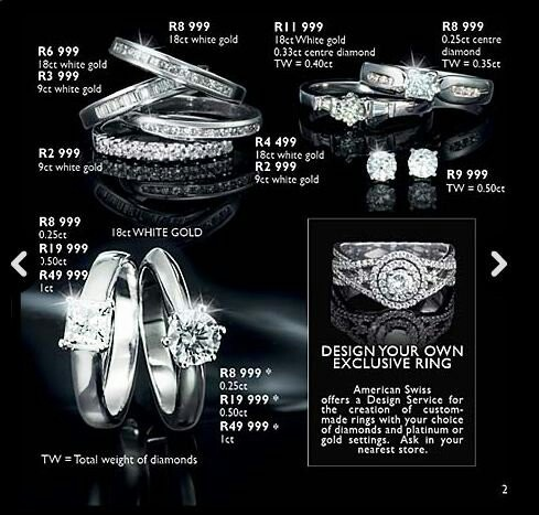 Black Diamond Wedding Rings For Sale South Africa