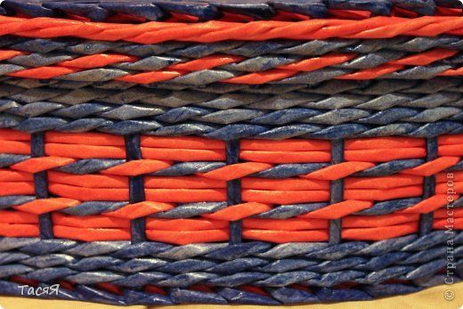 Поделка изделие Плетение Повторюшка вдогонку -  Бумага фото 14