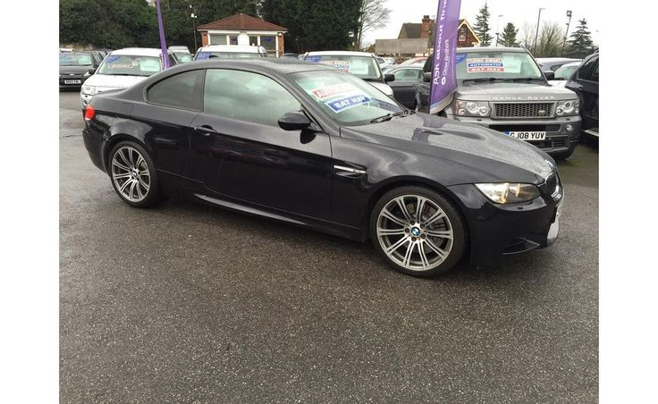 Second hand black 58 bmw m3 automatic petrol coupe 4.0 v8 dct 2dr in Strood, Kent. Organise a test drive today or visit the showroom.