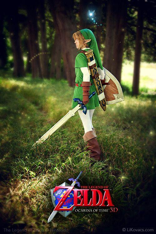 Kokiri Forest - Nintendo Link Costume by *pikminlink on deviantART