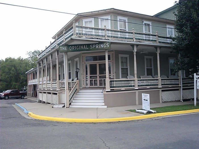 The Original Springs Hotel is a century-old hotel, restaurant, and spa located in the small town of Okawville in Southern Illinois.
