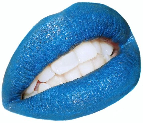 Hey, I found this really awesome Etsy listing at https://www.etsy.com/listing/91538505/blue-lipstick-color-rich-lipstick