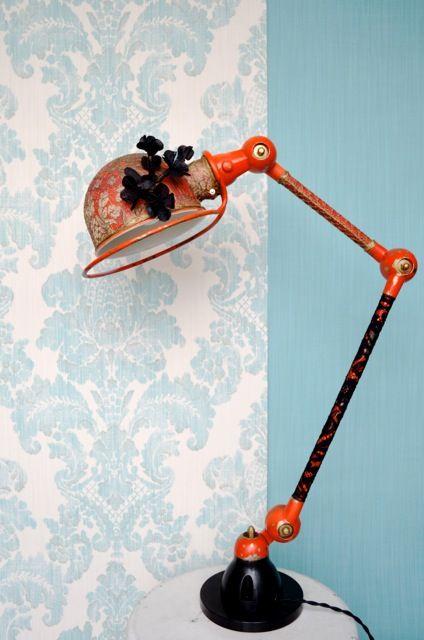 Christelle Balbinot - Luminaires et meubles inspirés du mobilier industriel et repensé avec imagination, contraste et diverses matières recouvrantes