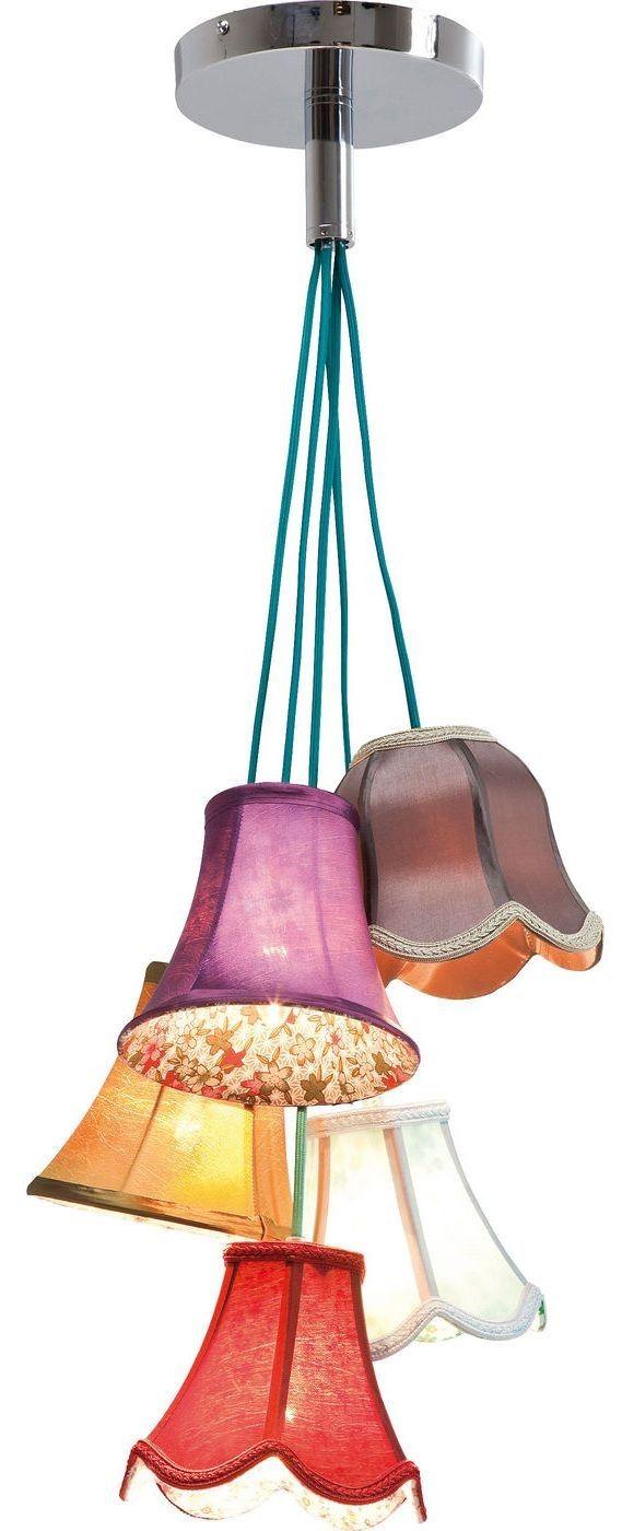 Saloon Flowers 5 hanglamp bont - Kare Design