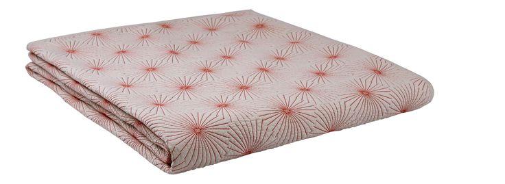 DAZU Couvre-lits Rouge Tissu