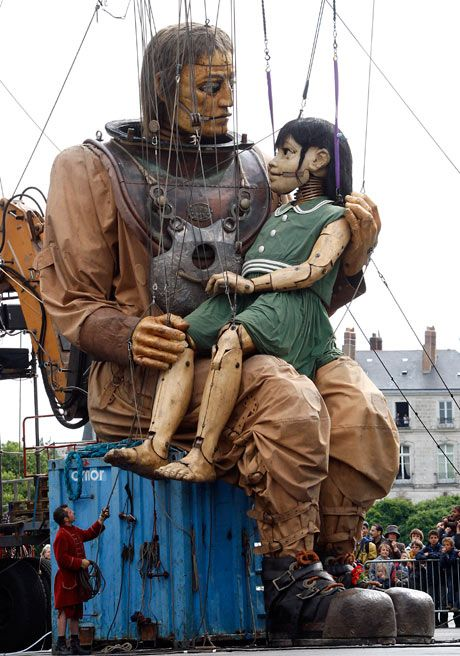 Giant Puppets: French street theatre specialists Royal de Luxe's Sea Odyssey