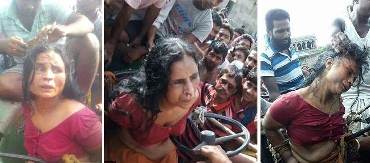 Akibat salah sangka wanita sakit mental diikat dicukur rambut dibogelkan dibelasah dan dilempar batu hingga mati oleh penduduk kampung http://ift.tt/2uFVlXE