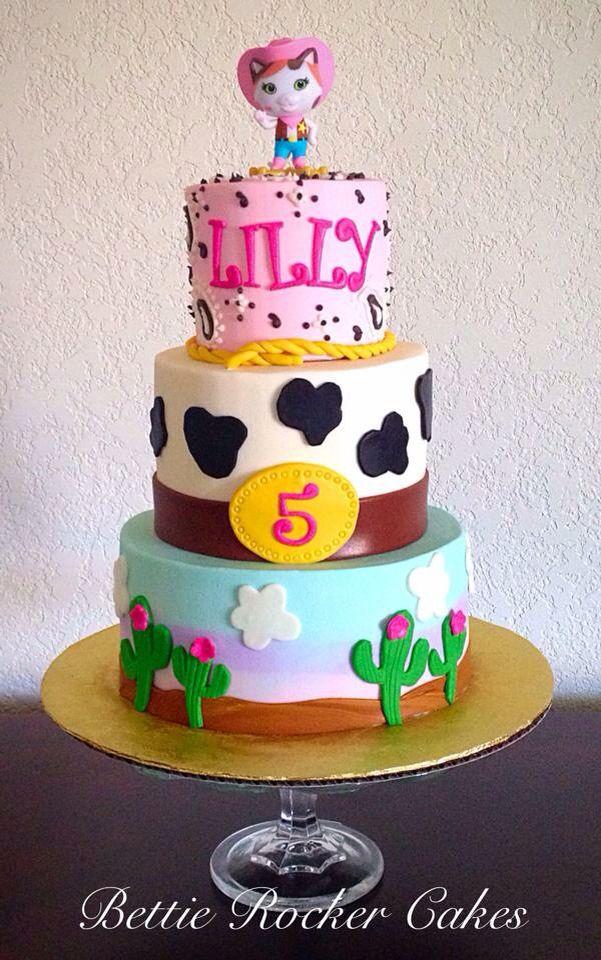 Sheriff Callie Wild West Cake