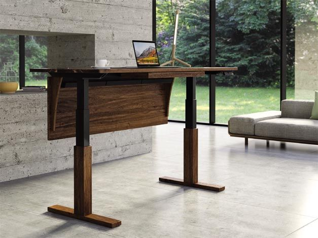 Charmant Www.copelandfurniture.com #homeoffice #woodgrain #standingdesk
