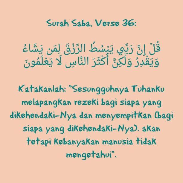 Surah Saba, Verse 36