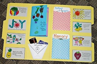 How To Make A D Fruit Basket Craft For Children