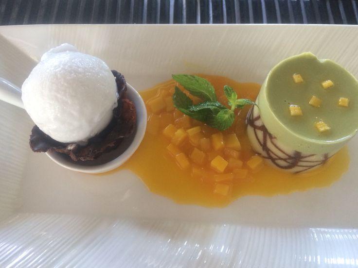 Green Tea Coconut Ice Cream at Maguro Asian Bistro, Nusa Dua Beach Hotel & Spa, Bali