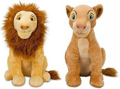"Disney Store The Lion King Plush Doll Gift Set Featuring 17"" Adult Simba and 16"" Adult Nala Stuffed Animal Toys Disney Interactive Studios http://www.amazon.com/dp/B006EOZLW8/ref=cm_sw_r_pi_dp_Imhpvb15A102X"