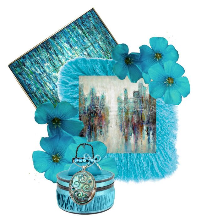 """""""Turquoise jewel"""" by swgcreations ❤ liked on Polyvore featuring interior, interiors, interior design, home, home decor, interior decorating, John-Richard, JAG Zoeppritz, Aurelle Home and Jacki Design"""