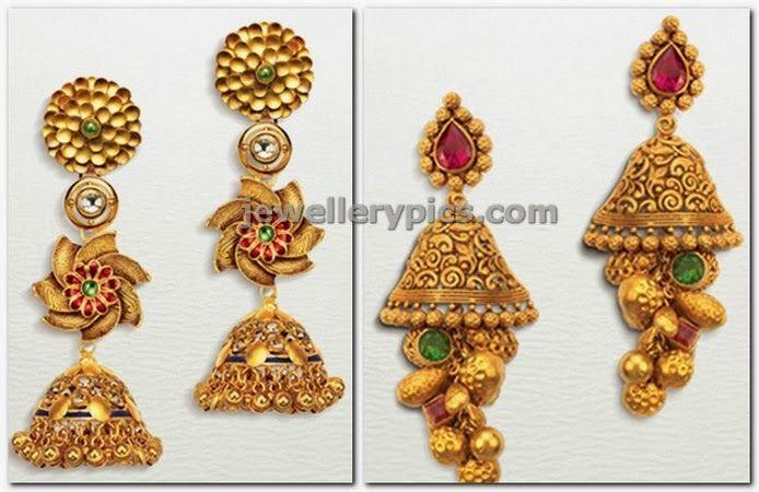 Designer jumka models by Tarun Tahiliani - Latest Jewellery Designs