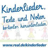 Kinderlieder, Texte und Noten kostenlos herunterladen