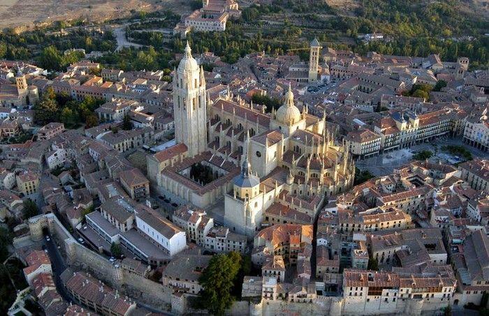 Индивидуальные и групповые Экскурсии в город Сеговья ( Сеговия) - Кафедральный собор города Сеговии (Segovia) Сан Фрутос San Frutos