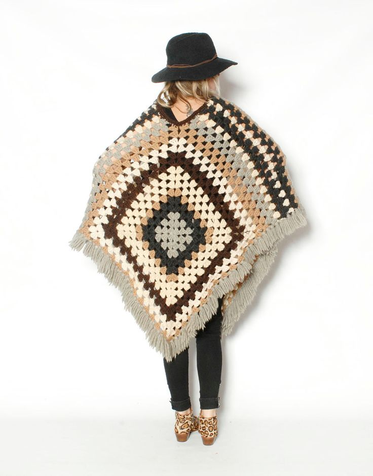 17 Best images about crocheted ponchos/caplets on ...