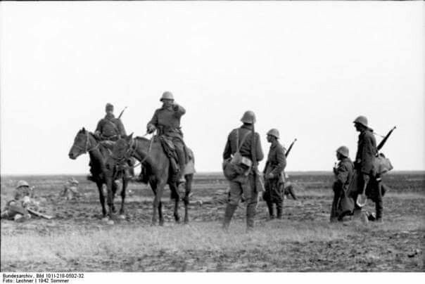 Romanian troops Eastern Front Armee Group South