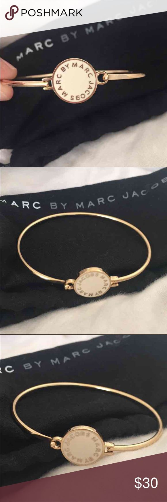 NEW Marc Jacobs bracelet BRAND NEW- I took off the tag to prevent the sticky tag material from sticking. Beautiful Marc Jacobs bracelet from Nordstrom; received as a gift but I already have same thing in another color. Comes with dust bag!! Makes a great Christmas present. Marc Jacobs Jewelry Bracelets