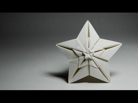 Origami Shining star - Ngôi sao (Hoang Tien Quyet) - YouTube