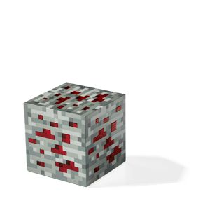 ThinkGeek :: Minecraft Light-Up Redstone Ore.  SETH does love this! Thanks Aaron H and @heatherdpan