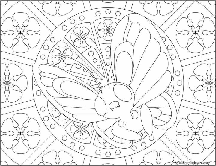 Pin By Stacey Toda On Mandala Pokemon Coloring Pages Pokemon Coloring Coloring Pages