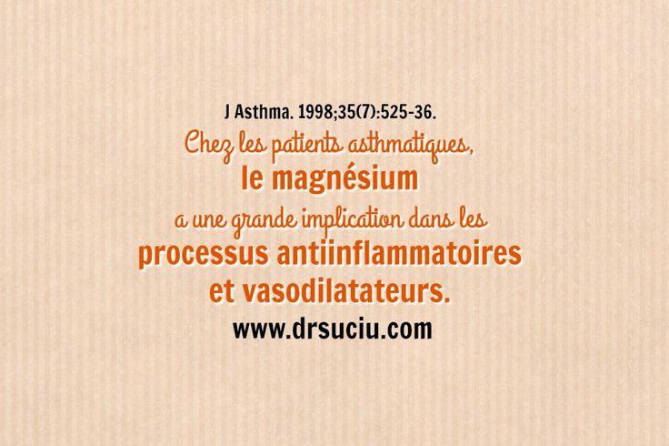 Photo Le magnésium est un élément clé dans l'asthme  - drsuciu