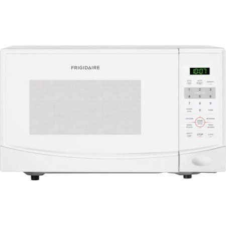 Frigidaire 0.9 Cu Ft 900W Countertop Microwave Oven, White