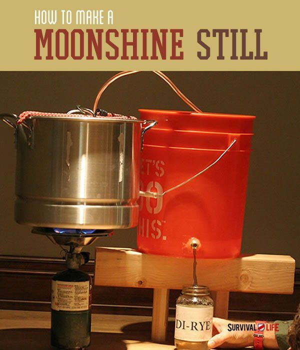 Want to learn how to make moonshine? Become one of the moonshiners this moonshine still DIY. Survival Life is the best source for prepper survival gear.
