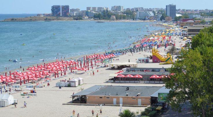 Mamaia una de las mejores playas de Rumania