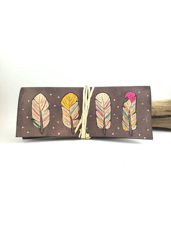Check out this item in my Etsy shop https://www.etsy.com/ca/listing/533684312/womens-leather-wallet-leather-feather
