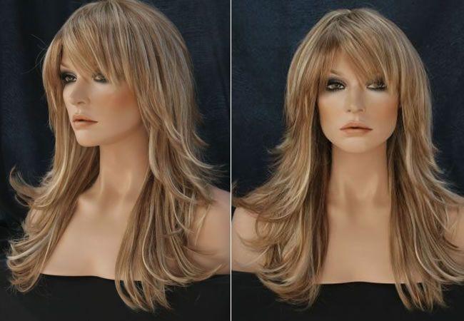 Corte de cabelo feminino repicado  Portal Tudo Aqui