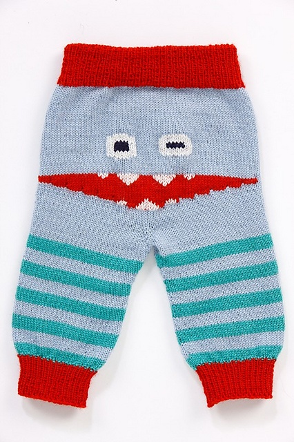 Ravelry: Monsterpant/Monsterbukser - Baby pattern by Tonje Ailin Solheim