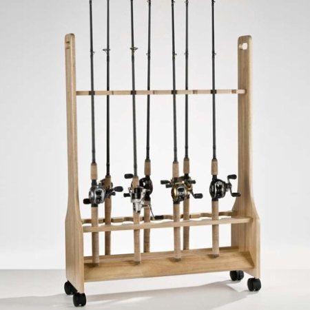 Wood Fishing Rod Racks Home Woodworking Projects Amp Plans