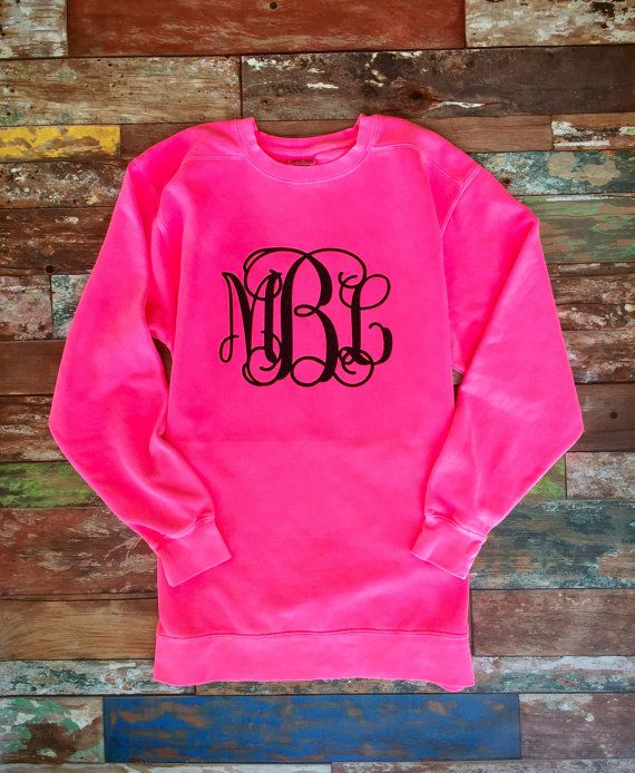 Our monogrammed sweatshirts make the perfect monogrammed gift for girls and women of all ages - theyve been a customer favorite gift to give as