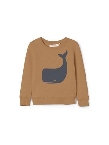 Hainan Kids Sweatshirt - Terracota