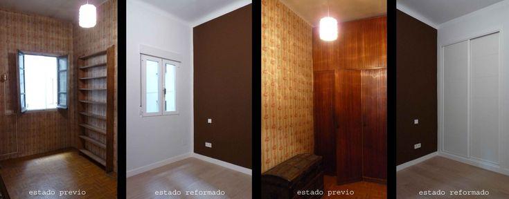 Cambio de ventanas y carpinterías, suelos, eliminación de papel pintado....