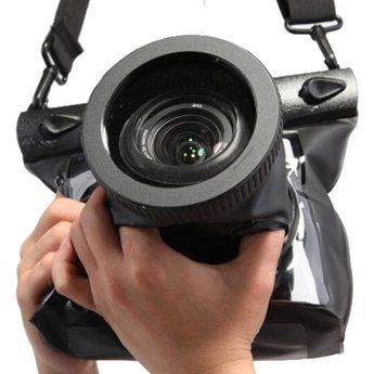 Koolertron New Black 20M Underwater Waterproof Case DSLR SLR For Canon 5D III 5D2 7D 60D 600D Nikon D700 D5100. Want it? Own it? Add it to your profile on unioncy.com #gadgtes #tech #electronics